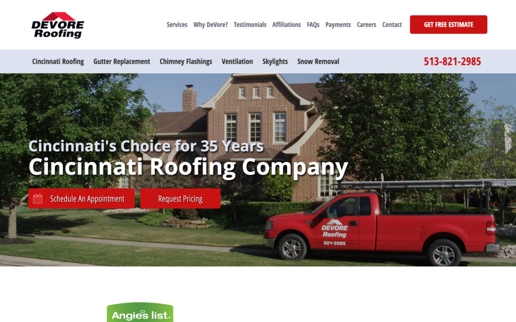 Devore Roofing featured on Elevare roofing blog