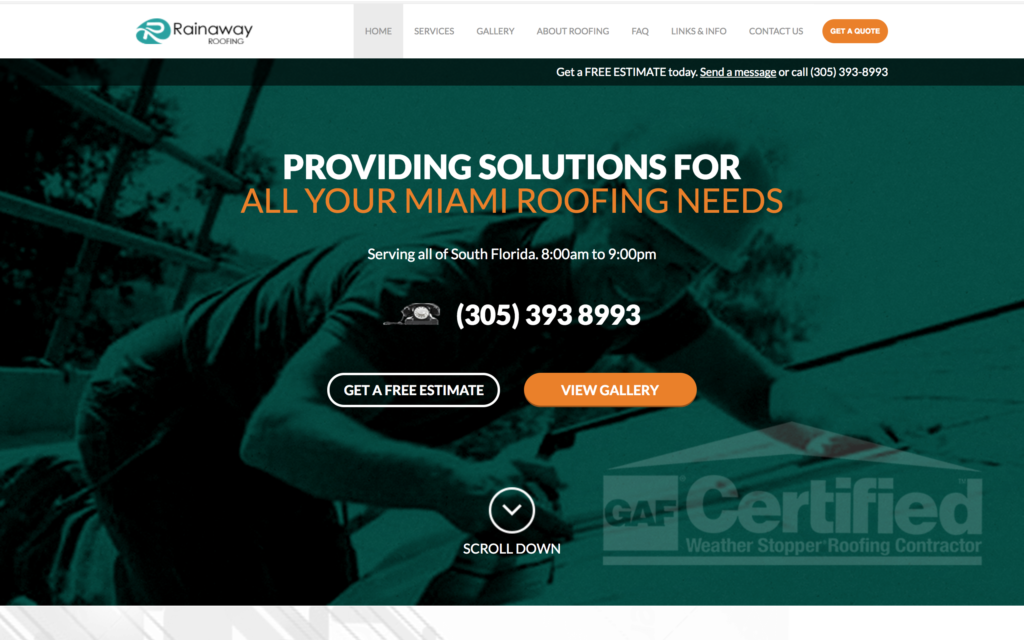 Rainaway Roofing featured on Elevare roofing blog
