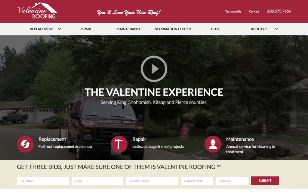 Valentine Roofing featured on Elevare roofing blog