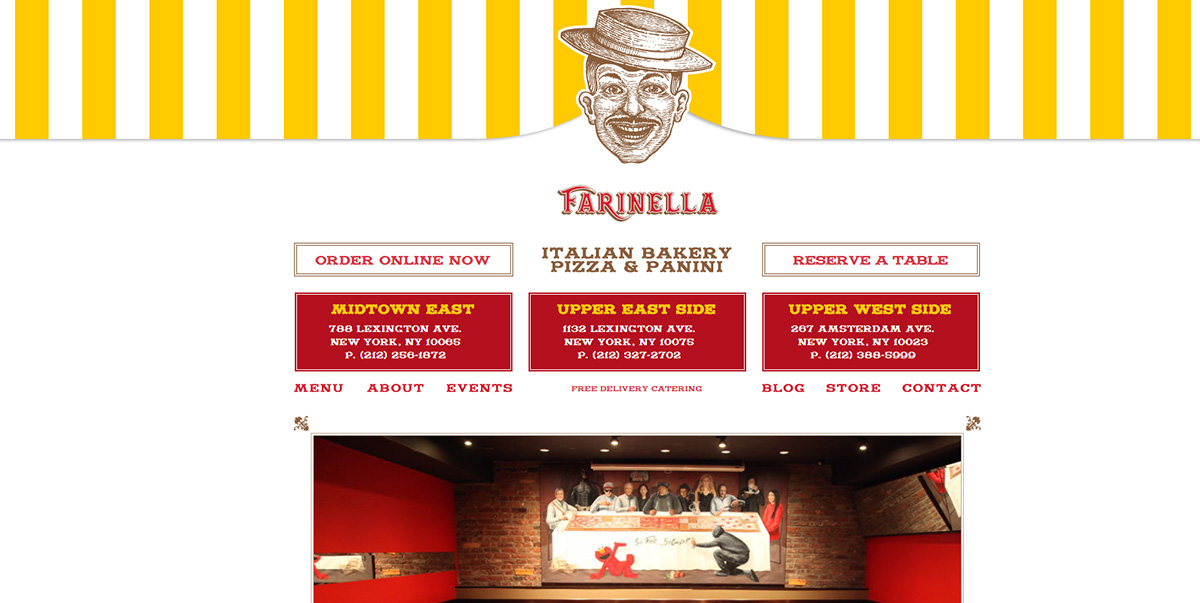 Farinella Italian Bakery featured on Elevare best restaurant website blog