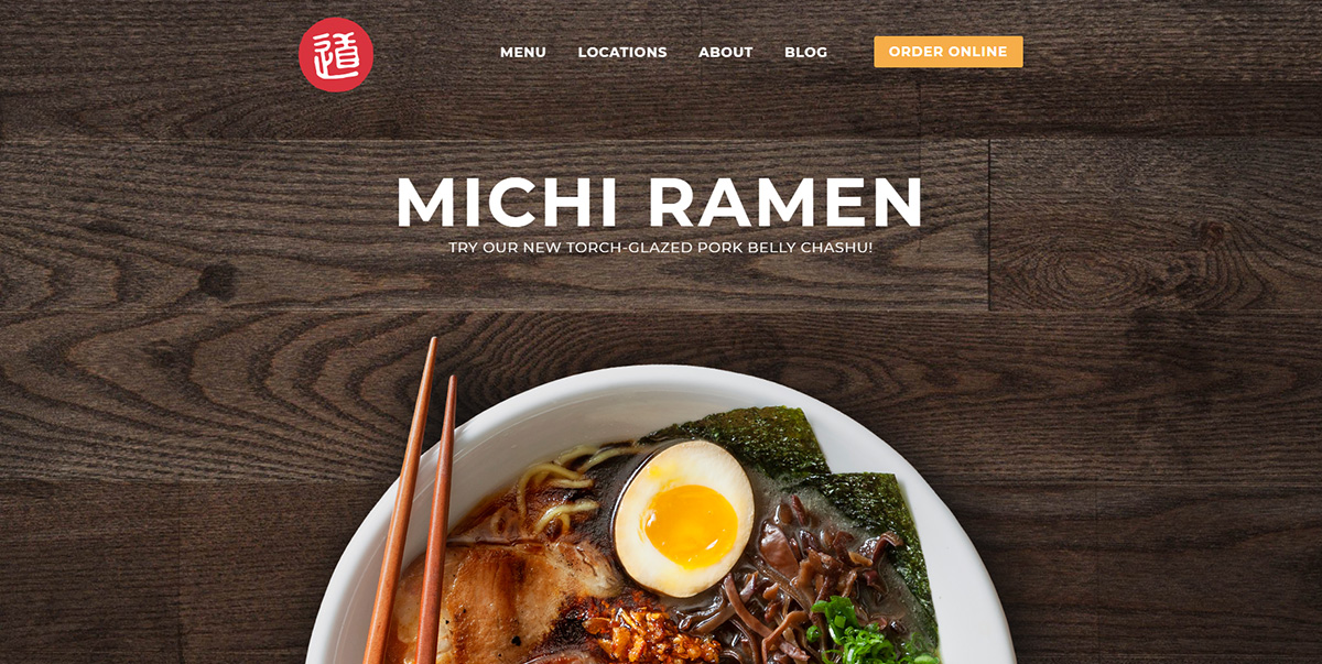 Michi Ramen featured on Elevare best restaurant website blog