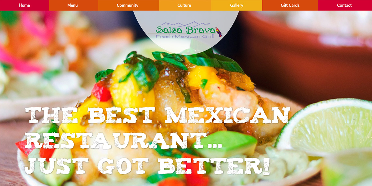 Salsa Brava Fresh Mexican Grill featured on Elevare best restaurant website blog