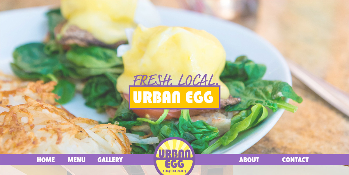 Urban Egg Eatery featured on Elevare best restaurant website blog