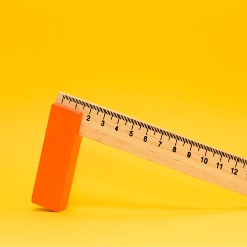 Ruler for measuring