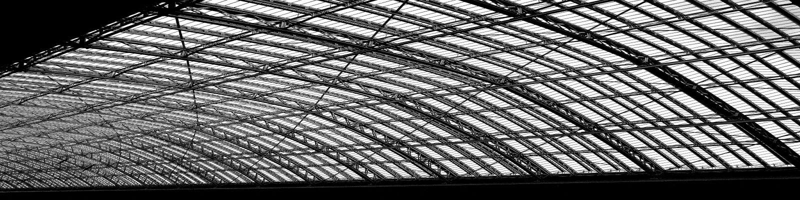 modern steel roof